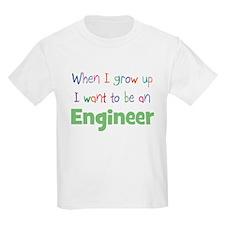 When I Grow Up Engineer Kids T-Shirt