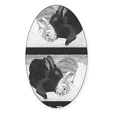 Snuggle Bunnies Journal Decal