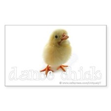 2-DanceChick_wh Decal