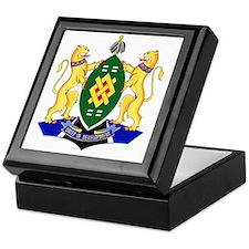 Johannesburg Coat Of Arms Keepsake Box