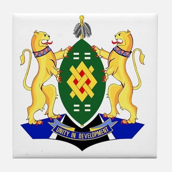 Johannesburg Coat Of Arms Tile Coaster