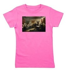 Declaration Independence Girl's Tee