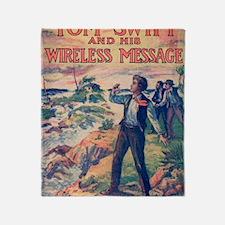 Wireless Message Throw Blanket