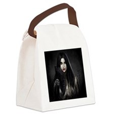 adderbite_square Canvas Lunch Bag