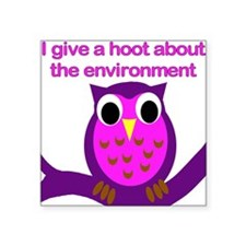 Environmental hoot Sticker