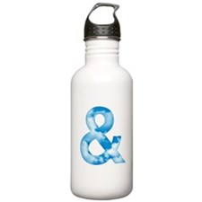 Cloud Ampersand Water Bottle