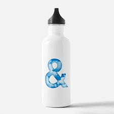 Cloud Ampersand Water Bottle