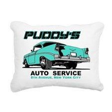 PuddyAuto2 Rectangular Canvas Pillow