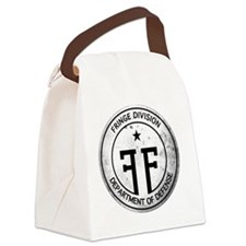 Fringe Division Logo-NO BG2 Canvas Lunch Bag