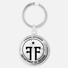 Fringe Division Logo-NO BG2 Round Keychain