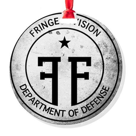 Fringe Division Logo-NO BG2 Round Ornament