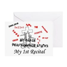 Jasmyn 2010 Recital Greeting Card
