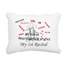 Jasmyn 2010 Recital Rectangular Canvas Pillow