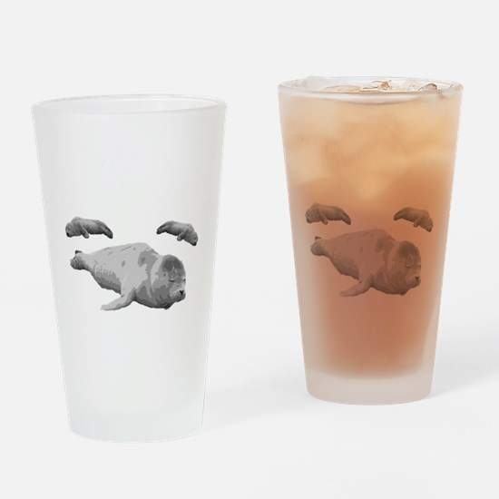 seal5 Drinking Glass