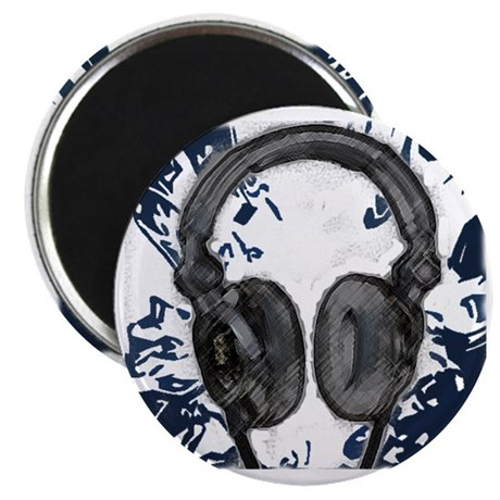 headphones abstract Magnet