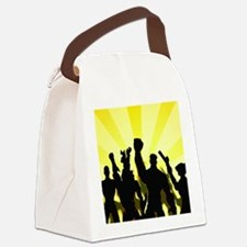 4-free1a Canvas Lunch Bag