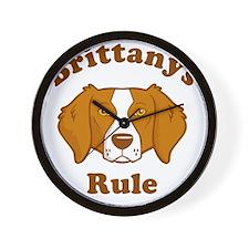 Brittanys-Rule Wall Clock