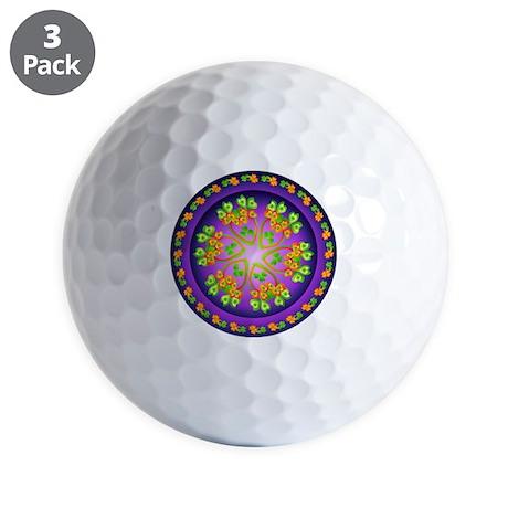 SPRING FLOWER. Golf Balls