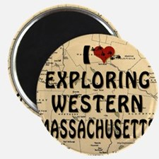 I Love Exploring Western Massachusetts! Magnet