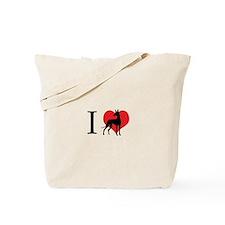 I Love Podencos Tote Bag