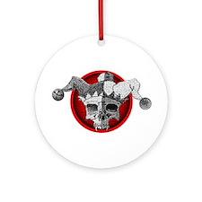 Dead Jester Ornament (Round)