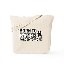 Born to rumba Tote Bag