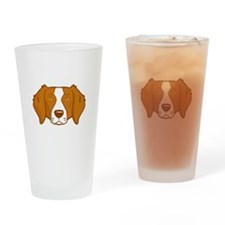 Brittanys-Rule-dark Drinking Glass