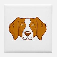 Brittanys-Rule-dark Tile Coaster