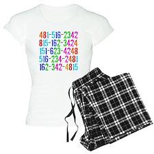 Phone Numbers Pajamas