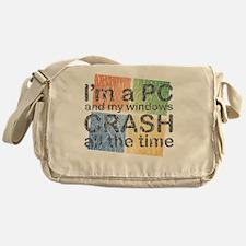 PCcrash Messenger Bag