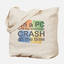 PCcrash Tote Bag