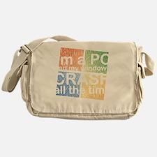 PCcrashDrk Messenger Bag