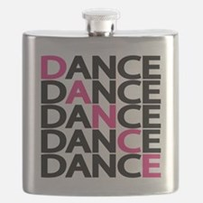 dance-times-five-2-color Flask