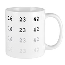 LOst numbers Mug