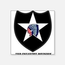 2nd Infantry Division Rectangle Sticker