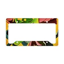 ART BRIGHT FISHY LONG License Plate Holder