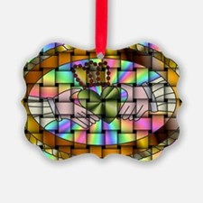 CladdaghPinLogo g Ornament