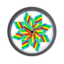 toy windmill t-shirt Wall Clock