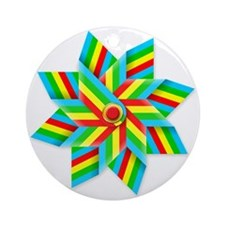toy windmill t-shirt Round Ornament