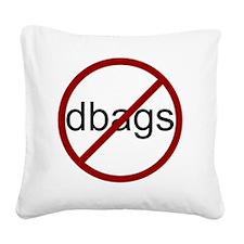 no-dbags Square Canvas Pillow