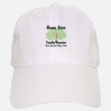 Customizable Family Reunion Tree Baseball Cap