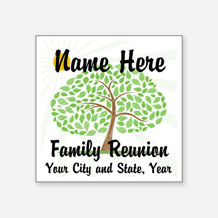 Family Reunion Stickers | Family Reunion Sticker Designs ...