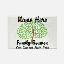 Customizable Family Reunion Tree Magnets
