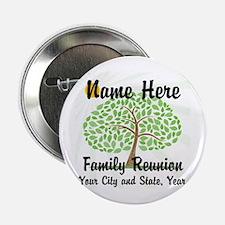 "Customizable Family Reunion 2.25"" Button (10"