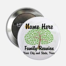 "Customizable Family Reunion Tree 2.25"" Button"