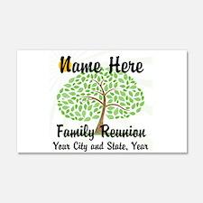 Customizable Family Reunion Tree Wall Decal