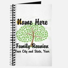 Customizable Family Reunion Tree Journal