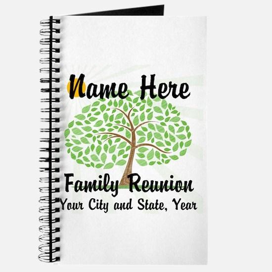 Customizable Family Reunion Tree Journal