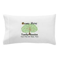 Customizable Family Reunion Tree Pillow Case