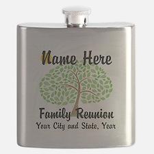 Customizable Family Reunion Tree Flask